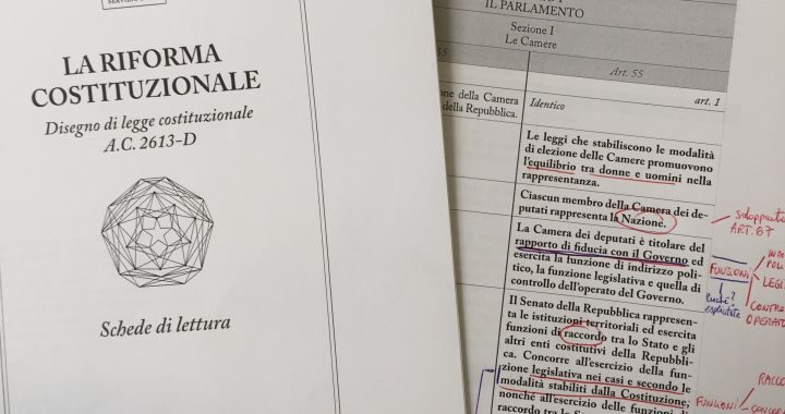 Le ragioni del Sì, le ragioni del No: il confronto tra Sabino Cassese e Valerio Onida